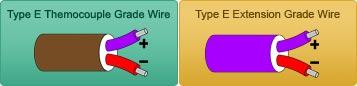 Type E Thermocouple